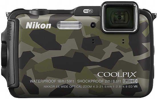 Aw120 550x345 Nikon COOLPIX AW120   nowy globtroter