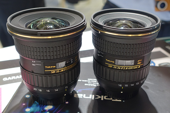 Tokina AT X PRO 11 20mm f2.8 vs 11 16mm f2.8 II lens TOKINA 11 20MM PRO DX  F/2.8